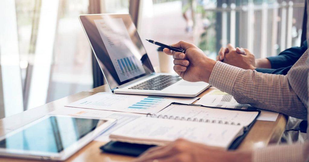 financials background image