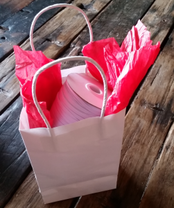 mask elastic gift bag