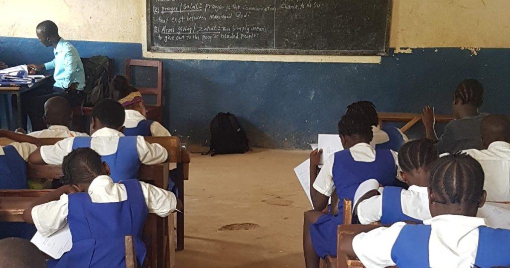 SL classroom
